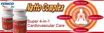 Cardiovascular health Super 4-in-1NATTO complex formulation