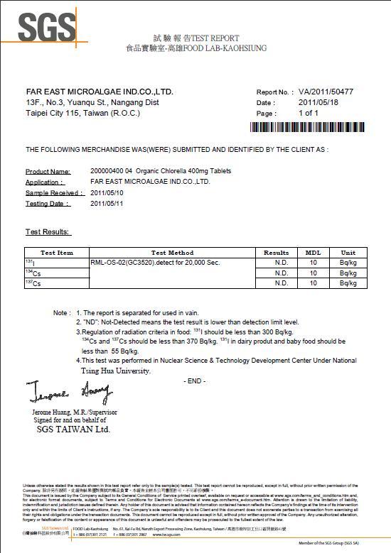 Standard lab report